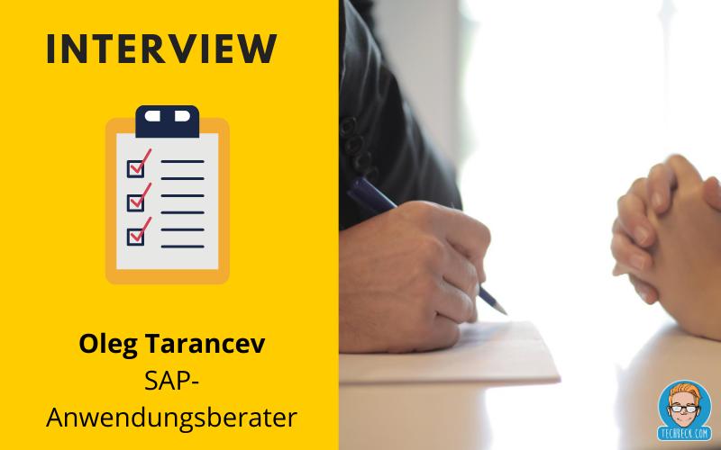 Interview mit einem IT-Anwendungsberater